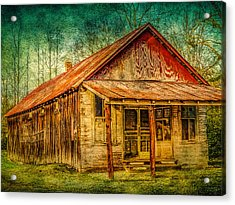 Old Store Acrylic Print by Phillip Burrow