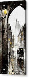Old Street Acrylic Print