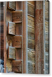 Old Structure Construction Acrylic Print by Kae Cheatham