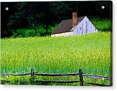 Old Sturbridge Farm Acrylic Print by Belinda Dodd