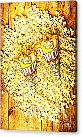 Old Style Popcorn Cones  Acrylic Print
