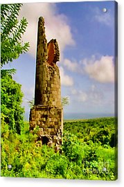 Old Sugar Mill Acrylic Print by Louise Fahy