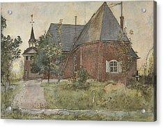 Old Sundborn Church. From A Home Acrylic Print