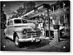 Old Taxi Acrylic Print by Todd Hostetter