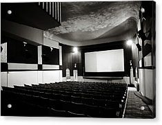 Old Theatre 3 Acrylic Print by Marilyn Hunt