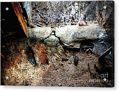 Old Threshold Paint Acrylic Print