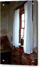 Old Time Window Acrylic Print