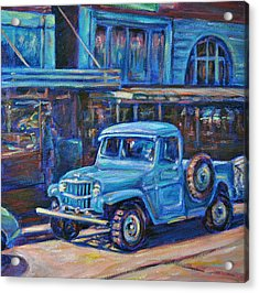 Old Timer Acrylic Print