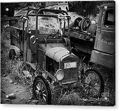 Old Times 2 Acrylic Print by Perry Webster