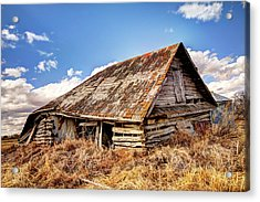 Old Times Acrylic Print by Ryan Crouse