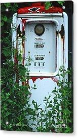 6g1 Old Tokheim Gas Pump Acrylic Print