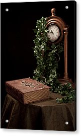 Old Tome I Acrylic Print by Tom Mc Nemar