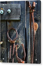 Acrylic Print featuring the photograph Old Tools by Joanne Coyle