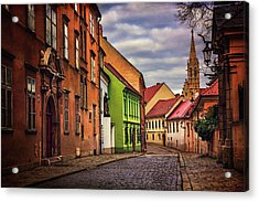 Old Town Bratislava  Acrylic Print