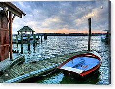 Old Town Charm Acrylic Print by JC Findley