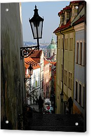 Old Town Acrylic Print