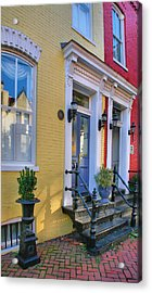 Old Town Homes I Acrylic Print