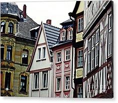 Old Town Mainz Acrylic Print by Sarah Loft