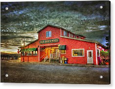 Old Town Mall Bandon Acrylic Print