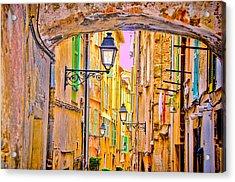 Old Town Nizza, Southern France Acrylic Print