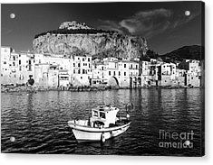 Old Town Of Fishermen Acrylic Print