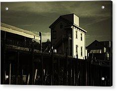Old Town Sacramento California Cityscape Acrylic Print