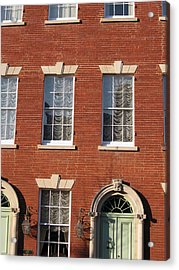 Old Town Acrylic Print by Sean Owens