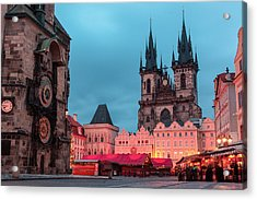 Old Town Square Acrylic Print