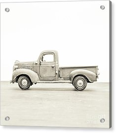 Acrylic Print featuring the photograph Old Toy Truck by Edward Fielding