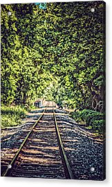 Old Tracks Acrylic Print