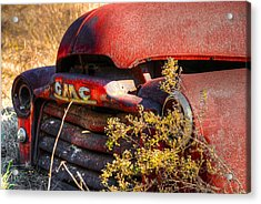 Old Truck 04 Acrylic Print by Andy Savelle