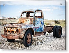 Acrylic Print featuring the photograph Old Truck by Silvia Bruno