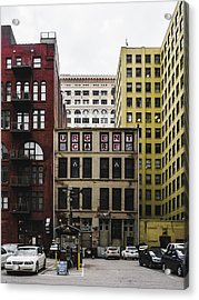 Old Urgent Care Building In Downtown Saint Louis Acrylic Print by Dylan Murphy