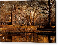 Old Village - Allaire State Park Acrylic Print