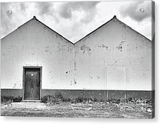 Old Warehouse Exterior Acrylic Print
