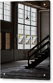 Old Warehouse Acrylic Print by Wilma  Birdwell