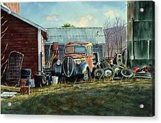 Old Warwick Acrylic Print by Tom Hedderich