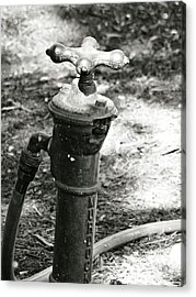 Old Water Pipe Acrylic Print