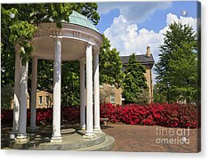 Old Well At Chapel Hill In Spring Acrylic Print