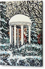 Old Well Winter Acrylic Print