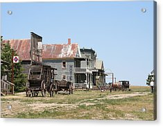Old West Acrylic Print by Gregory Jeffries