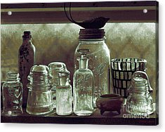 old west impressionism - Glass Ware VII Acrylic Print