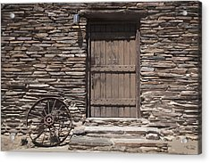 Old West Acrylic Print by Kelley King