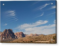 Old West Poles Acrylic Print