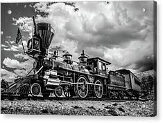 Old West Train Acrylic Print