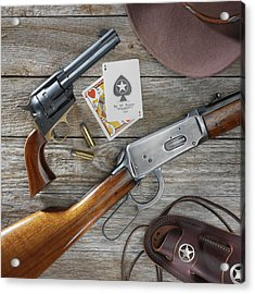 Old West Weapons Acrylic Print