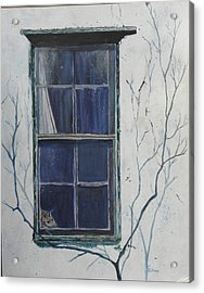 Old Window 2 Acrylic Print by Christine Lathrop