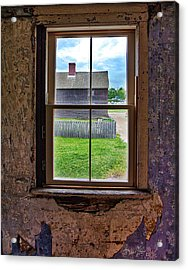 Acrylic Print featuring the photograph Old Window by David A Lane
