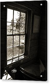 Acrylic Print featuring the photograph Old Window by Joanne Coyle