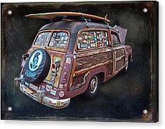 Old Wood Acrylic Print